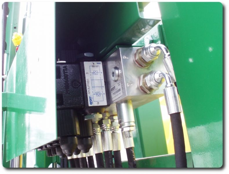 Hidraulicni blok ventili u zasticenom kucistu